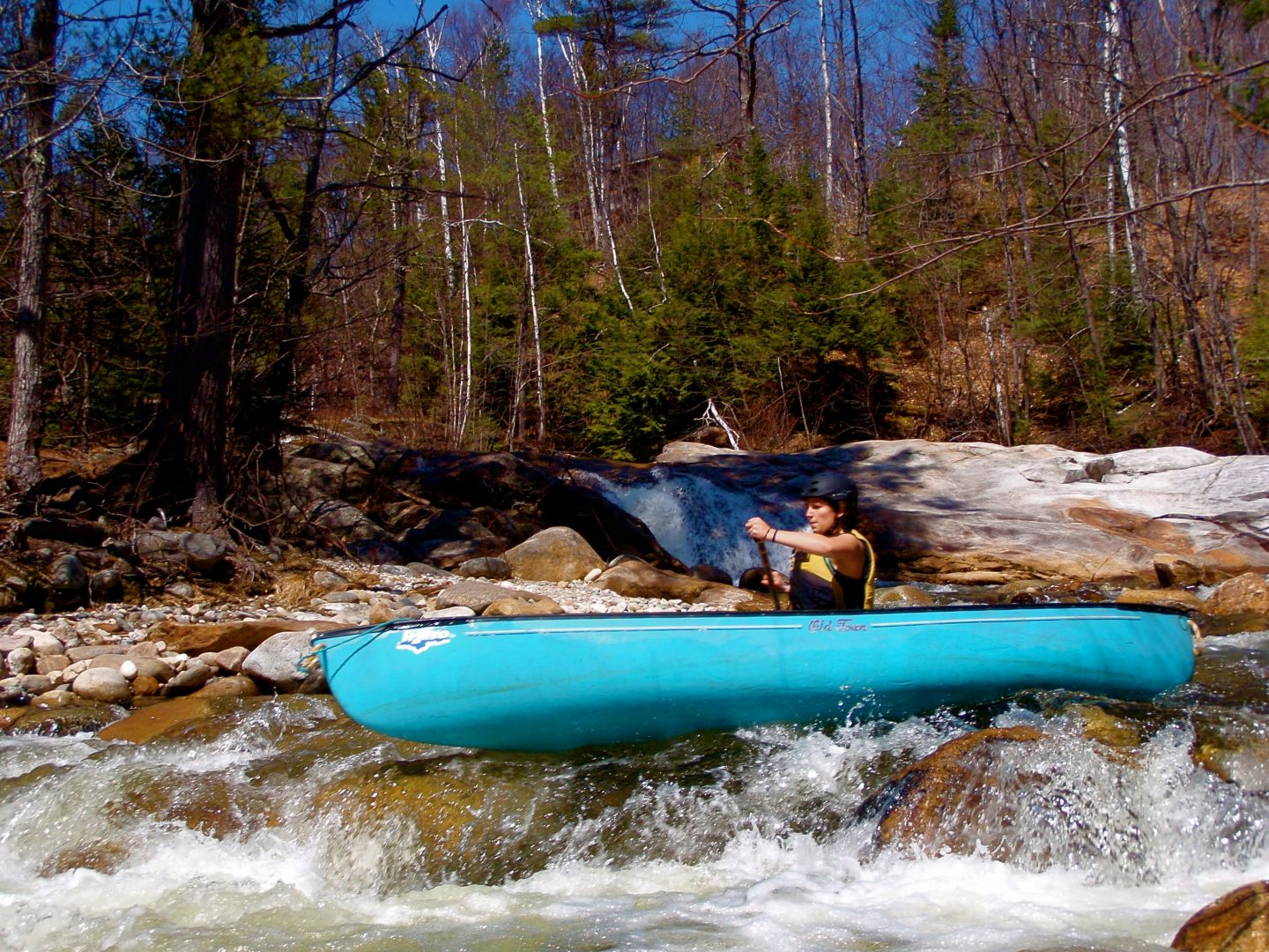 Spring Paddling in Maine