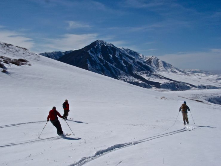 Getting into Bishkek, we reunited with friends and immediately returned to the mountains for a blissful ski tour.
